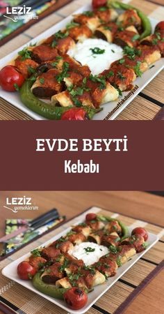 Beyti Kebab at Home - My Delicious Food - Muhammed yemek - French Turkish Recipes, Italian Recipes, Ethnic Recipes, Cranberry Walnut Chicken Salad, Fish And Meat, Iftar, Snacks Für Party, Pumpkin Salad, Time To Eat
