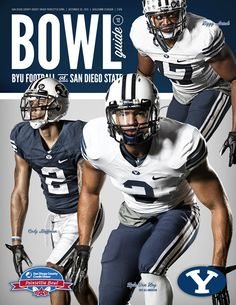 BYU Football Bowl Guide 2012 - By Dave Broberg