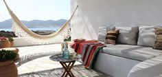 A cosy corner perfect for lazy summer days. Agios Georgios, Antiparos villa