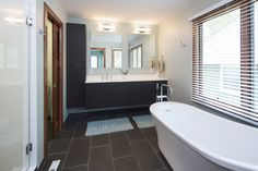 Bathroom remodel by Fair & Square Remodeling. #fairandsquare