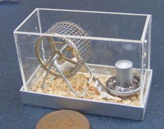 miniature pets - hamster cage