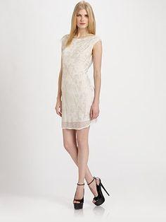 Alice + Olivia - Madlyn Open-Back Dress - Saks.com