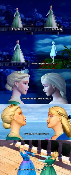 Barbie Island Princess : a duet between mother and daughter