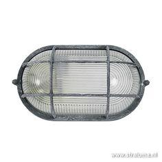 Industriele Wandlamp / plafondlamp groot