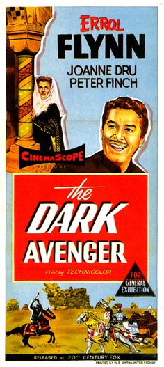 Allied Artists movie posters   The Dark Avenger (1955) Filmography links and data courtesy of The ...