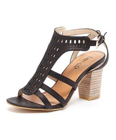 Look at this Black Drinee Sandal on #zulily today!