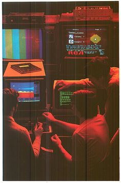 Nostalgic 80's design. Is this an ad, for RCA perhaps?
