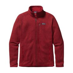 M's Better Sweater® Jacket, Classic Red (CSRD)