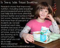 It Starts With School Breakfast #SchoolBreakfast