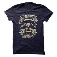 Underwriter  T Shirt, Hoodie, Sweatshirt. Check price ==► http://www.sunshirts.xyz/?p=146859