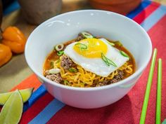 Get Sunny's Sunset Park Noodle Bowl Recipe from Food Network