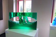 Petr Stacho,Petr Menš-GLASS and PAINTINGS,exhibition in regional baroque museum in DĚČÍN(Czech republic)