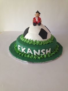 For the love of football! #football #cake #delicious