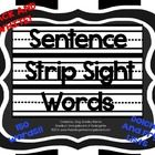 This is a set of 150 sight words (and color words) for use in your classroom. These words can be used for word walls, writing centers, center acti. Kindergarten Smorgasboard, Kindergarten Classroom, Classroom Ideas, Dolch Word List, Fry Sight Words, Writing Centers, Sentence Strips, Reading Specialist, Word Walls