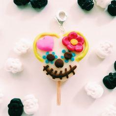 Dia De Los Muertos Minnie Treat Charm Dark Disney, Clay Charms, Miniature Food, Glow, Polymer Clay, Cake Pops, One Day, Cake Pop, Cakepops