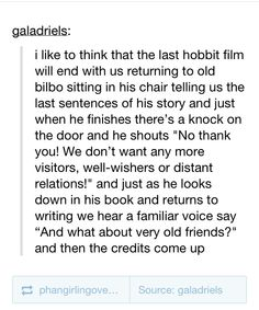 This would have been an amazing ending