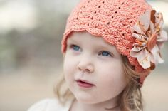 """Little Sister Hat"" crochet pattern on Craftsy.com-(FILED)"