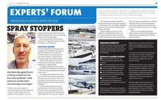 An article on Sprayhoods and a guide to their specification from our MD from All At Sea August 2014