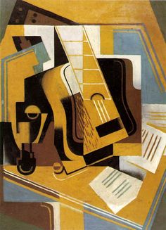 The Guitar (La Guitarra), 1918 Juan Gris
