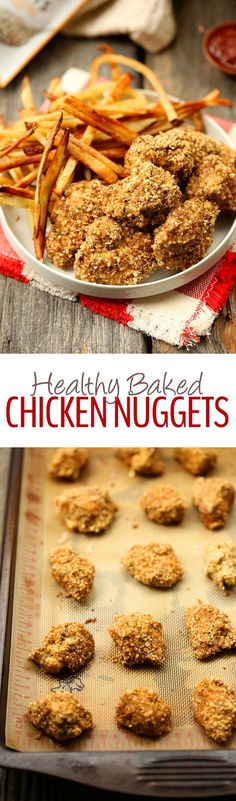 Eat your favorite childhood food without having to deep fry a thing with these Healthy Chicken Nuggets! They're baked instead of fried and coated with a Hemp Heart crust to make a zesty and flavorful childhood recipe classic, revamped!