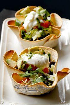 Delicious & Healthy Tortilla Cups - Cinco De Mayo Edition -Crispy Baked Taco Muffin Cups