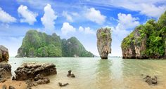 Amasing Travel To Phang-Nga Bsy Thailand - The James Bond Island  Phang-Nga province is in south-western Thailand, on the Andaman Sea, and it contains a number of Spectacular places to visit, including the Surin Islands National Marine Park and the Similian Islands National Marine Park, both renowned for diving, snorkelling and sport fishing.  Read More http://www.getintravel.com/amazing-travel-to-phang-nga-bay-thailand-the-james-bond-island/