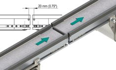 How can it be ensured that delicate and small objects are transferred safely and efficiently from one conveyor line to another within a continuous processing line? The knife edge is the ideal and proven technical solution for this. Configure your Montech standard conveyor belt with rolling knife edge now online, while respecting the load factors at economical cost. Conveyor Belt, Freundlich, Factors, German, Objects, Delicate, English, Film, Knives