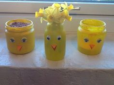 Påske pynt i børnehøjde Duck Crafts, Easter Crafts, Diy And Crafts, Arts And Crafts, Projects For Kids, Diy For Kids, Crafts For Kids, Easter 2018, Easter Candy