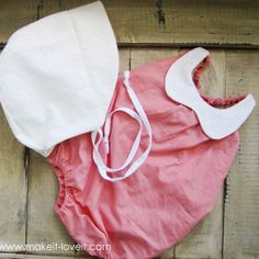 Here's a summertime pattern you don't want to miss! This free, collared baby romper for Make It Love It comes in a size 12-18 months. -Sewtorial