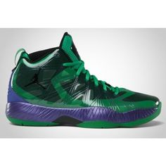 AIR JORDAN 2012 LITE (THE HULK) Sneaker Freaker ❤ liked on Polyvore featuring shoes