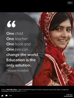 Malala Yousafzai Quotes 11 Malala Yousafzai Quotes Every Girl In Your Life Should Read .