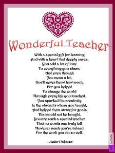 Quotes about World teachers day quotes) Teacher Appreciation Poems, Teachers Day Wishes, Teachers Day Greetings, Teacher Poems, Presents For Teachers, Teacher Cards, Happy Teachers Day, Teacher Gifts, Teacher Devotions