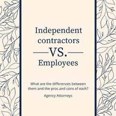 The Difference Between Employee And Contractor And Why It Matters