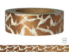 Masking Tape - Masking Tape KUPFER SCHMETTERLINGE - ein Designerstück von Fitzi-Floet bei DaWanda