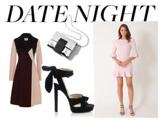"""""""Hot Date Night Style"""" by officialrt ❤ liked on Polyvore featuring Jimmy Choo"""