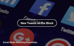 #SocialMedia 👻 #Marketing 🎯 Internships https://tapwage.com/channel/new-tweets-on-the-block