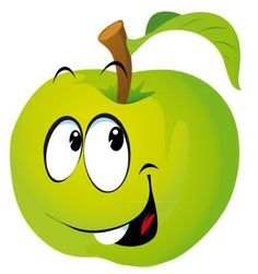 View album on Yandex. Alphabet, Funny Fruit, Image Clipart, Emoji Faces, Fruit Art, Rock Art, Oeuvre D'art, Cartoon Characters, Painted Rocks
