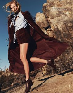 Elle France - Ginta Lapina by Jan Welters