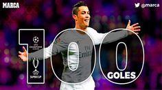 Real Madrid: Cristiano firma un doblete histórico para alcanzar su gol 100 en Europa - Marca.com