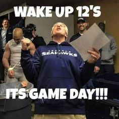 Seattle Seahawks game day!