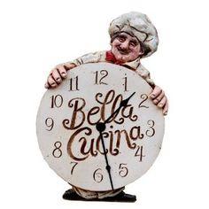 Fat Chef Bella Cucina ClockPrice: $45.95