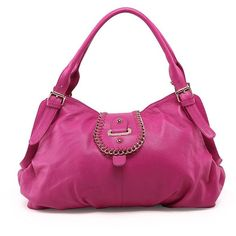 Kristina Deluxe Leather Handbag|VANCL ($20) ❤ liked on Polyvore