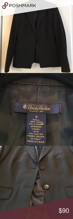 Brooks Brothers jacket Brooks brothers jacket.  Size 6.  Classic fit.  Fully lined Brooks Brothers Jackets & Coats Blazers