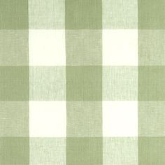 Buffalo Check Fabric in Sage by Clarke & Clarke $63/yard SKU: 2135