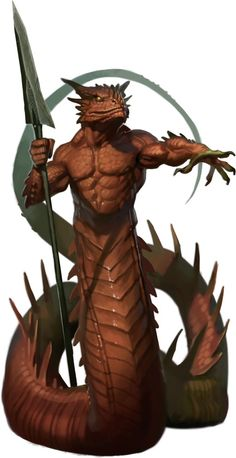 torso and head are similar to what I picture for my dragon-people