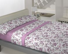 Coralina Dolce modelo Milán en malva de Llar Textil