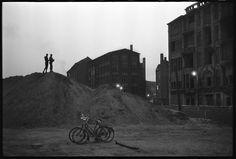 Berlin | Geteilte Stadt. Berliner Mauer. Zu der Zeit des Baus der Berliner Mauer, West-Berlin, Deutschland, November 1961. Don McCullin