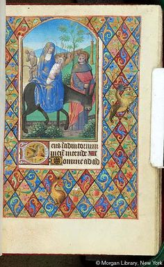 Book of Hours, MS G.4 fol. 65r - Images from Medieval and Renaissance Manuscripts - The Morgan Library & Museum