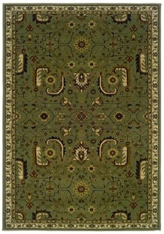 rug with olive