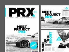 Project PRX Magazine 1 by Jonathan Quintin